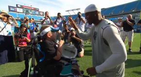 Must Watch: Terminally Ill Child Inspires Cam Newton's 2013 MVP Caliber Season