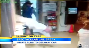 Video: This Is How You Escape From Jail! (Prisoner Is Still On The Loose)