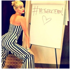 Middle America, Learn How To Twerk Like Miley Cyrus!