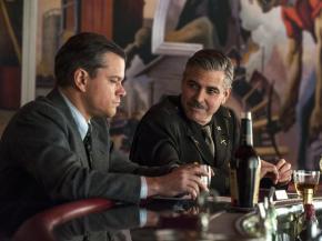 """Watch Trailer: Matt Damon & George Clooney Star in New Film """"The MonumentsMen"""""""
