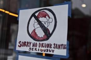 Must See Video! Santa Claus Gets Drunk & Starts Fighting OtherSantas!